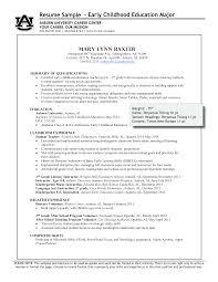 Free Sample Preschool Teacher Resume | Templates At ...