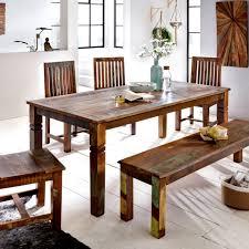 Esstisch 18090 Ausziehbar Capri Pinie Braun Massiv Holz Moebel