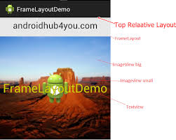 android hub 4 you the free android programming tutorial android framelayout demo framelayout example in android create frame layout in android