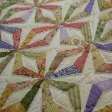 Making a Paper Pieced Quilt | ThriftyFun & Paper pieced quilt top, endless chains pattern. Adamdwight.com