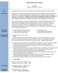 Example Of Accountant Resumes Top Accounting Resume Templates Samples