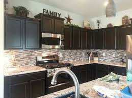 decorating above your kitchen cabinets builder supply