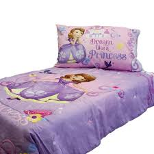 sofia first princess scrolls 4 piece toddler bedding set new