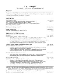 Resume After College Essayscope Com