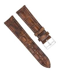 details about 21mm leather watch band strap for seiko sportura scjc043 snp055 light brown ws
