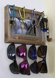 rustic key sungl holder via the thinking closet