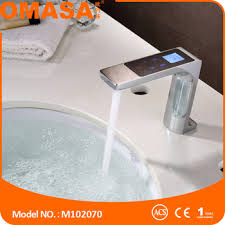 2016 New Faucet e Touch Smart Faucet Electrical Basin Mixer