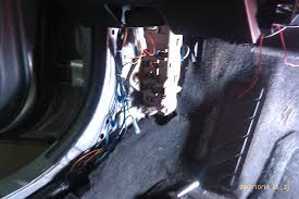 how to install bussmann fuse panel pull up the weather stripping in the door to uncover the edge of the kick panel grab the panel under that edge and pull straight out toward the passenger