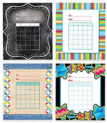 Incentive Charts For Students Creative Teaching Press Student Incentive Charts Variety Pack 5 1 4 X 6 Pack Of 144