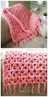 Quick And Easy Crochet Blanket Patterns Simple Easy Cozy Crochet Blanket Crochet BlanketAfghan LOVE Pinterest