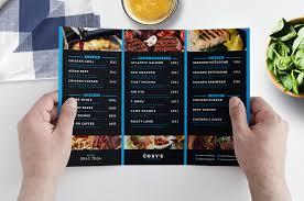 Resturant Menu Template Tri Fold Restaurant Menu Template In Psd Ai Vector Brandpacks
