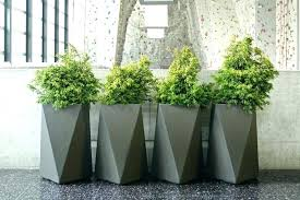 extra large planters for outside decorative outdoors terrarium design tall planter inexpensive outdoor uk