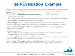 Employee Performance Appraisal Template Class Evaluation Form C ...