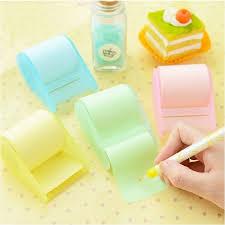 Post It Memo Rolls Fluorescent Sticker Pad Notes Stationery