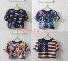 Crop Top Pattern Interesting 48 Women's Tank Crop Top Patterns Shirt Sexy Vest Camis Print