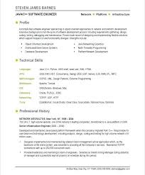 Best Resume Samples For Software Engineers Entry Level Software