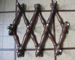 Metal Accordion Coat Rack French coat rack Etsy 59