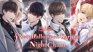 4 New SSR in Halloween Event 🦇Night Chant🎶- PV - Mr Love: Queen's Choice  - YouTube