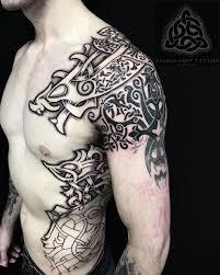 пин от пользователя євген на доске тату нордические татуировки