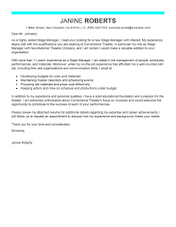 supervisor cover letter sample best cover letter samples