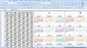 How To Make A Perpetual Calendar In Excel Comefly Us