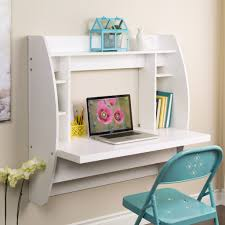 Fold Away Desk Thomasboro Foldaway Floating Desk Small Space pertaining to fold  down wall desk .