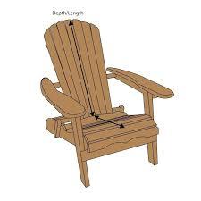 adirondack chair pads outdoor chair cushion adirondack chair cushion canada