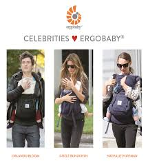 15 Hollywood stars spotted with an Ergobaby carrier : Maltamum