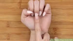 image led shape acrylic nails step 10