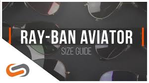 Ray Ban Aviator 3025 Size Chart Ray Ban Aviator Size Guide Sportrx Sportrx