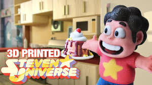 Steven Universe - 3D <b>printing</b> Steven and <b>Together</b> Breakfast ...
