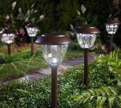 Energizer Stainless Steel Solar Lights Energizer 10 Piece Solar Landscape Light Set