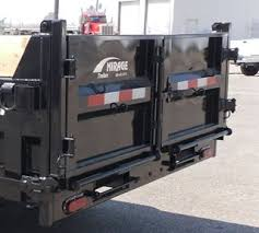 dump trailer rear doors