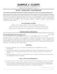 Resume Examples Retail Management Retail Operation Manager Resume ...