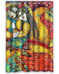Artistic shower curtains Ocean Deyou Vintage Culture Artistic Shower Curtain Polyester Fabric Bathroom Shower Curtain Size 48x72 Inches Better Homes And Gardens New Savings On Deyou Vintage Culture Artistic Shower Curtain
