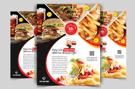 Restaurant Flyer Restaurant Flyer Vol24 Flyer Templates Creative Market 1