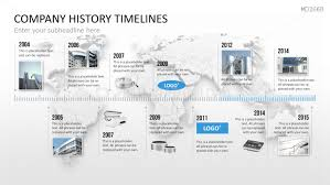 product timeline template powerpoint timeline template for company histories