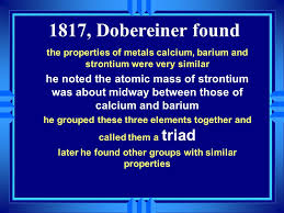 The Periodic Table The how and why….  Early in the 19th century ...
