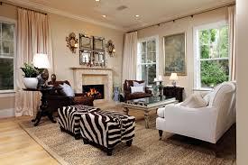 image of living room ottoman sets