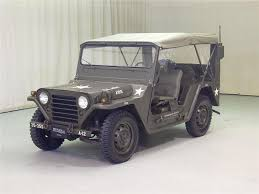 1966 ford m151 military jeep front 3 4 70701