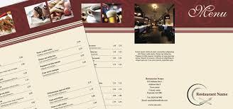 Tri-Fold Leaflet - Restaurant Menu • Istudio Publisher • Page Layout ...
