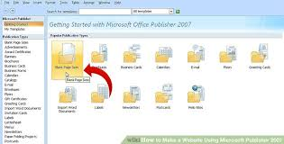 Ms Office Publisher How To Make A Website Using Microsoft Publisher 2007 12 Steps
