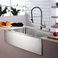 kitchen combos 33 x 21 single basin farmhouse a kitchen sink with faucet