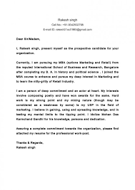 Cover Letter Dear Sir Or Madam