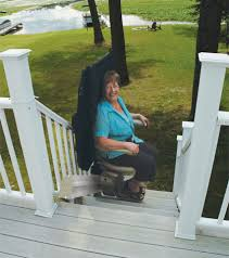 Outdoor Stair Lifts Bruno Elite SRE 2010E NJ PA Mobility123