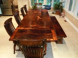 beautiful reclaimed wood dining table for rustic dining room ideas exciting dining set furniture for