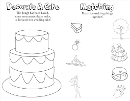 Wedding Coloring Pages For Kids Printable Bride Coloring Pages