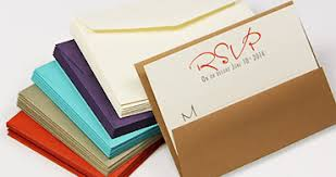 Rsvp Card Sizes Wedding Rsvp Envelopes Rsvp Return Envelopes