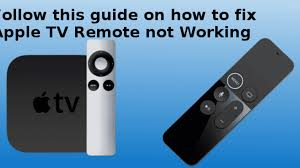 Fix Apple TV Remote Not Working | Siri Remote Not Working Fixed
