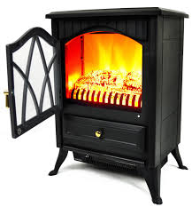 com akdy 16 retro style floor freestanding vintage electric stove heater fireplace ak nd 18d2p cool black home kitchen